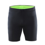 Nohavice CRAFT Prime Fitness 1902512-9810 - čierna sa zelenou