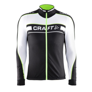 Cyklodres CRAFT Grand Tour LS 1902603-9810 – čierna sa zelenou