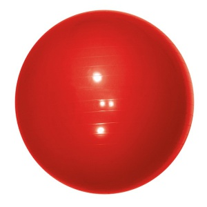Gymnastický lopta Yate Gymball – 65 cm červený