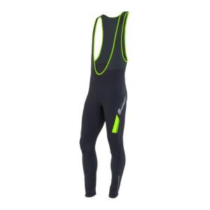 Pánske nohavice Sensor Sonic sa trakami bez vložky čierna/zelená 14200053