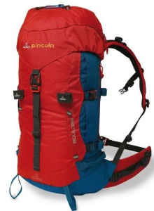 Batoh Pinguin Boulder 38 l New red