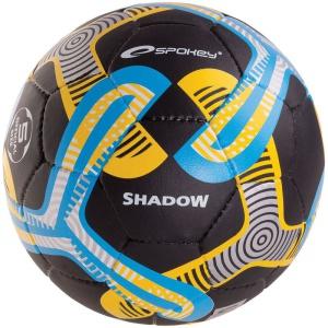 Futbalový lopta Spokey SHADOW čierny č.5