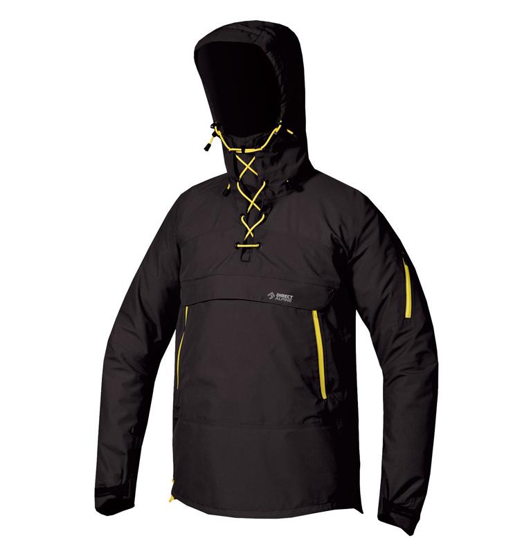 Bunda Direct Alpine INUIT ORIGO – anthracite / yellow