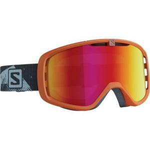 Lyžiarske okuliare Salomon Aksium Orange/Solar Red 377845