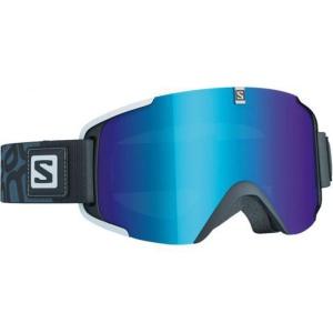Lyžiarske okuliare Salomon XVIEW Black/Solar Blue 377788
