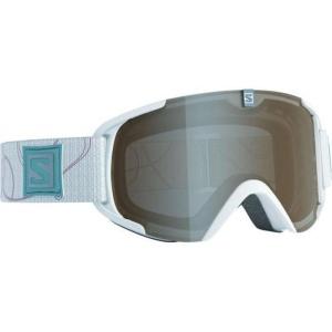 Lyžiarske okuliare Salomon XVIEW S White/univ. Amber Grey 377896
