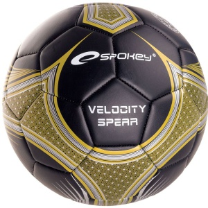 Futbalový lopta Spokey VELOCITY SPEAR čiernožltý č.5