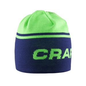 Čiapky CRAFT Logo 1903619-2334 – modrá sa zelenou