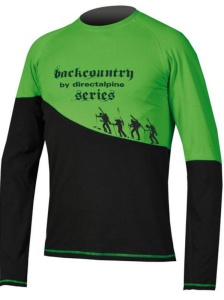 Tričko Direct Alpine BCS Shirt 1.0 black / green