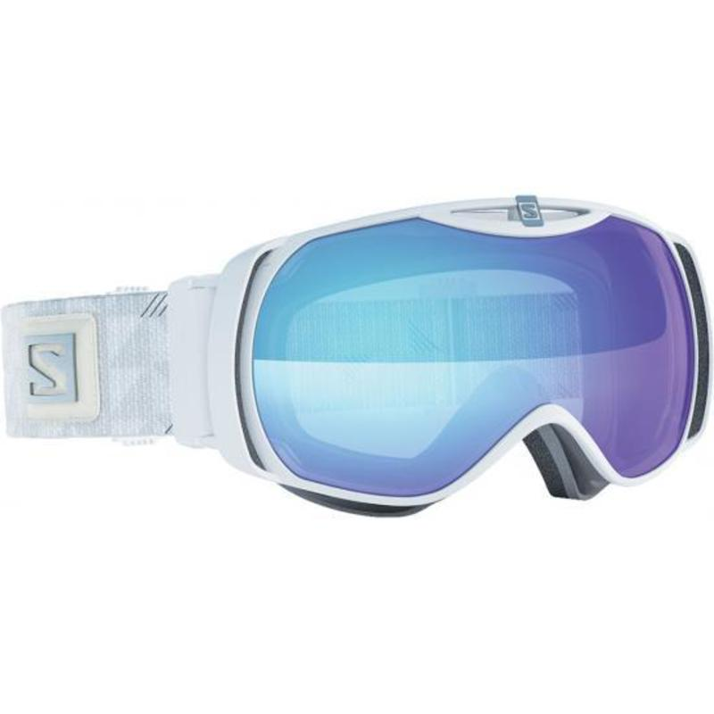 9217e913f Lyžiarske okuliare Salomon XTEND S Photochromic White/All Weather Blue  377780