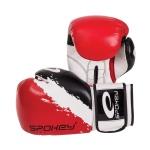 Boxerské rukavice Spokey ONI červené