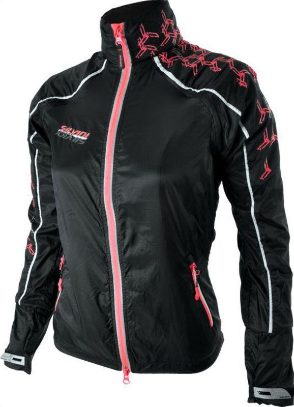 Dámska bežecká bunda Silvini PIOTA WJ707 black-punch