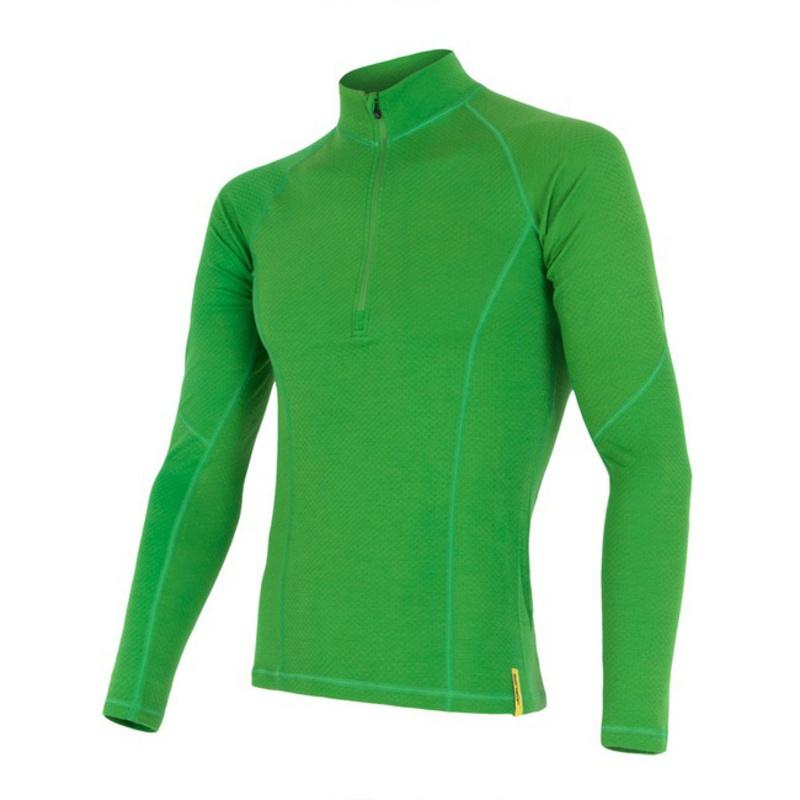 76f34456a58c Pánske triko Sensor Double Face Merino Wool zelené 15200028 ...