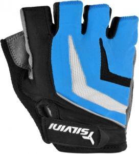 Pánske cyklistické rukavice Silvini Nero UA467M blue