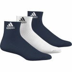 Ponožky adidas 3S Performance Ankle Half Cushioned 3p AA5492