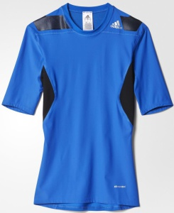 Tričko adidas TechFit Power Short Sleeve Tee AB1438