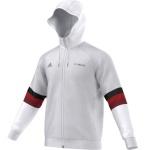 Mikina adidas AC Milan SF Hood Zips AB1610