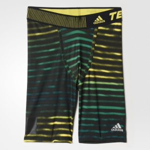Legíny adidas TechFit Cool Graphic Short Tights AB4581