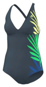 Plavky adidas Shapewear One Piece AB7055
