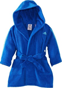 župan adidas 3 Stripes Bathrobe Kids AO0069