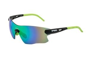 Športové slnečné okuliare R2 SPIN čierne AT084C