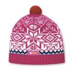 Detská pletená čiapka Kama B55 114 ružová