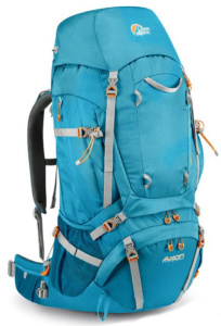 Batoh Lowe alpine Axiom Diran ND 65:75 Sea blue / pumpkin
