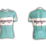 Dres Bianchi Team Carbon Short Sleeve Celeste Jersey C9511112-17