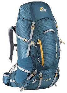 Batoh Lowe alpine Axiom+ Cerro Torre 75:95 XL bondi blue / amber