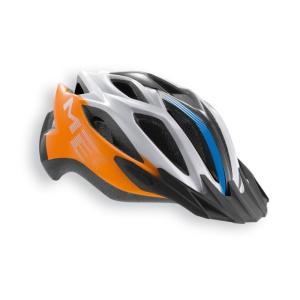 Helma Met Crossover 52/59 – oranžová / modrá