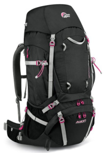 Batoh Lowe alpine Axiom Diran ND 65:75 Anthracite / magenta
