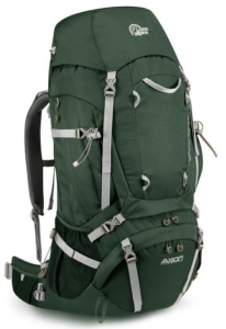 Batoh Lowe alpine Axiom Diran 65:75 Crocodile green / sand