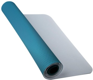 Podložka na jógu Nike Fundamental Yoga Mat 3mm Cool Grey / Blue Lagoon