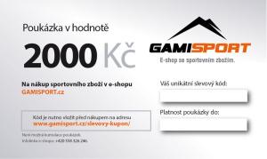 Poukaz na 2000 Euro