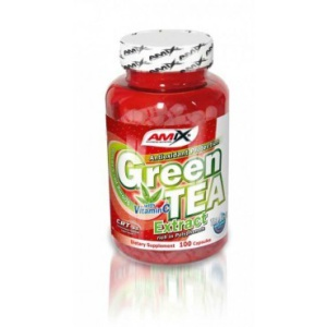 Amix Green TEA Extract with Vitamín C 100 kapsúl