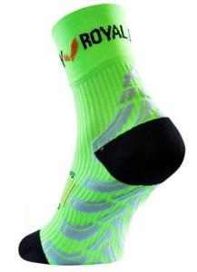Ponožky ROYAL BAY® Neon High-Cut Green 6099