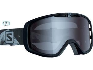 Lyžiarske okuliare Salomon Aksium OTG Black/Univ. Amber 368036