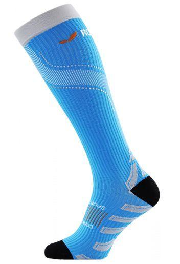 Kompresný podkolienky ROYAL BAY® Neon Blue 5099