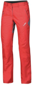 Nohavice Direct Alpine Patrol Lady Fit red / grey
