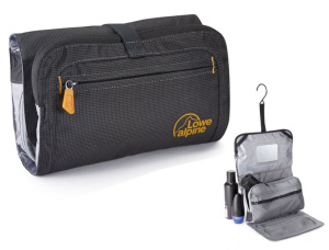 Toaletka Lowe Alpine Rollup Wash Bag Anthracite / amber