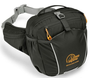 Ľadvinka Lowe alpine Space Case Black / pumpkin