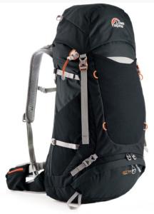 Batoh Lowe alpine AirZone Trek+ 45:55 black / pumpkin