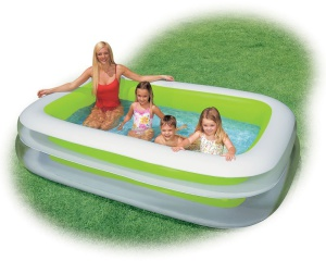 Nafukovací bazén Intex Family obdĺžnik 262x175cm 56483