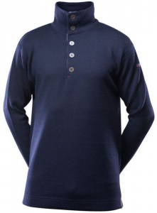 Pánska mikina Devold Blaatrøie sweater button 210-420 285