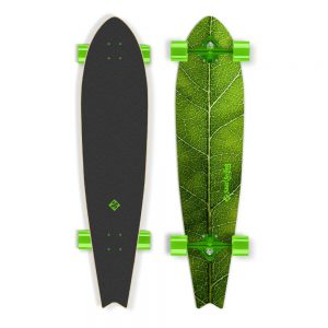 """Street Surfing Fishtail – The Leaf 42"""" zelený truck"""