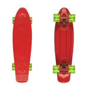 """Fish Classic 22"""" Red-Red-Transparent Green"""