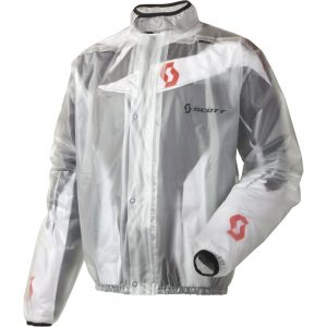 SCOTT Rain Coat číra – XL (54-56)