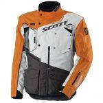 SCOTT Dualraid TP šedo-oranžová - XXL (58)