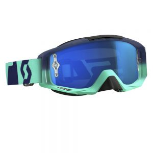 Salomon Tyrant MXVI oxide turquoise-blue-electric blue chrome