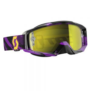 Salomon Tyrant MXVI zebra purple-yellow-yellow chrome